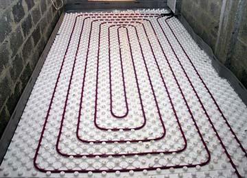 Электрический теплый пол в ванной под плитку