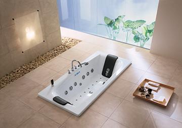 акриловая ванна встроенная в пол