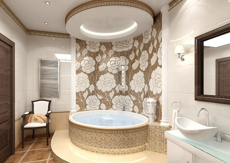 ванная комната - интерьер
