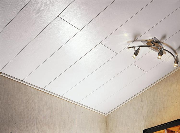 потолок из пластика в ванной