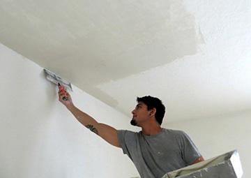 подготовка потолка к отделке