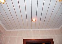 выбираем и монтируем реечные потолки для ванной