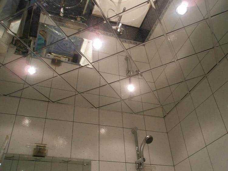 зеркальный потолок классический
