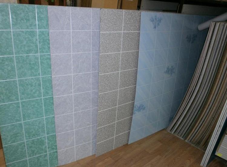разные варианты листовых панелей