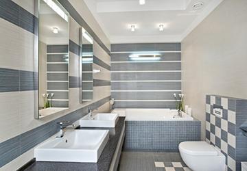 вариант отделки ванной