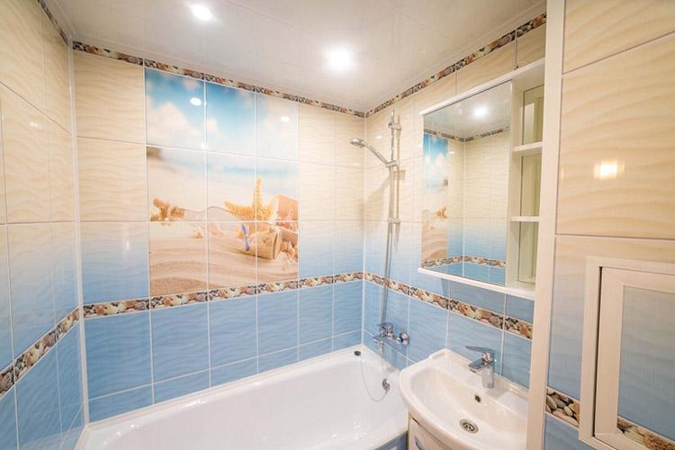 панели в ванной комнате фото