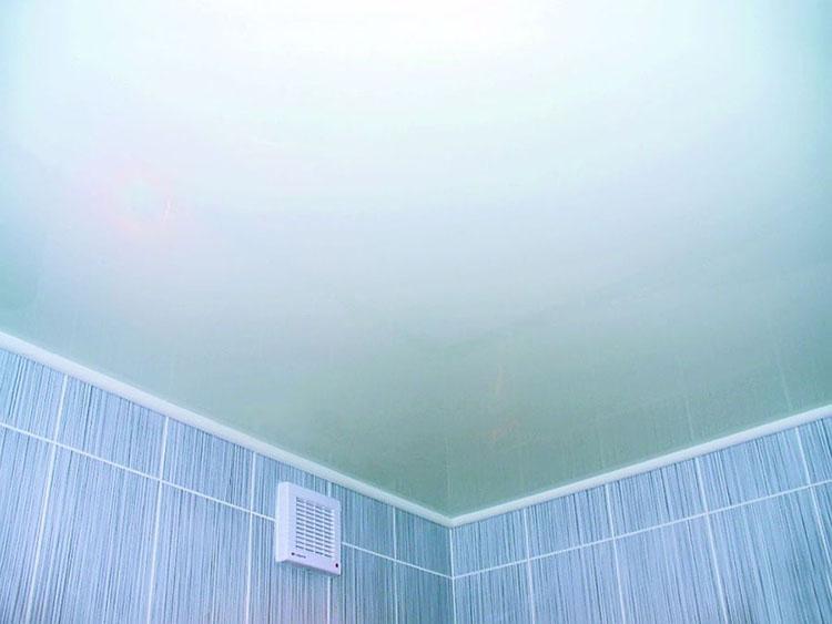 потолок после покраски