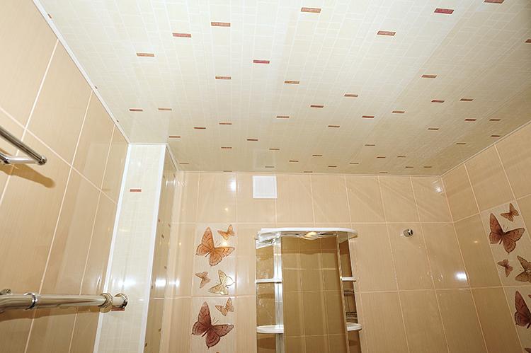 пластик на потолке