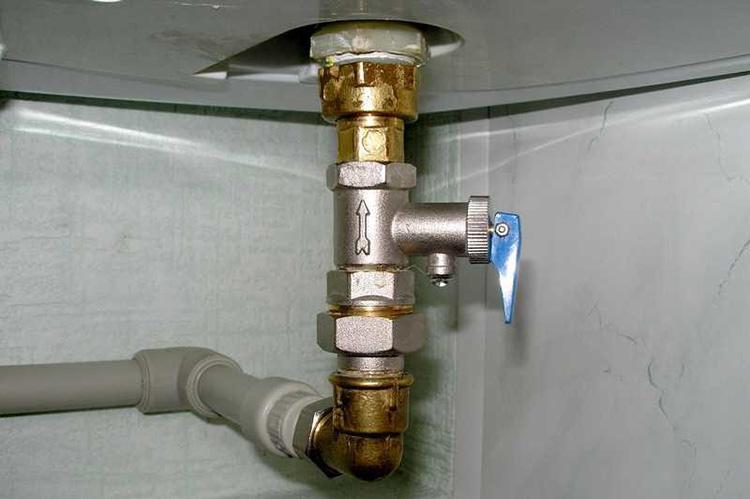 рычаг водонагревателя
