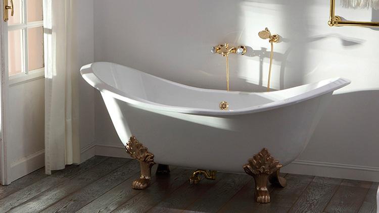 ванна из стали