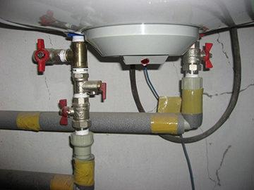 подключение водогрейного оборудования