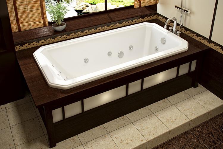 модель ванной
