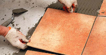 плитка на цементе