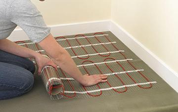 укладка теплых полов кабельных