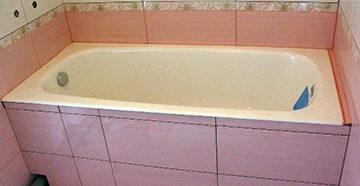 экран в ванной