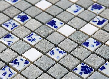 керамическая синий и белый фарфор