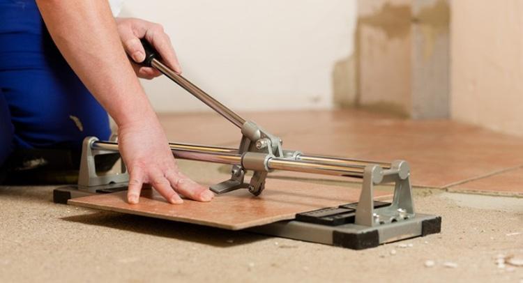 режем плитку своими руками
